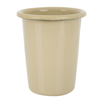 Enamel Steel Cup - Brown
