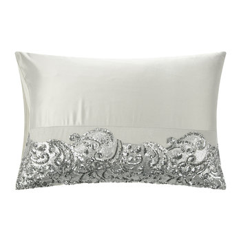 Cadence Pillowcase - Silver