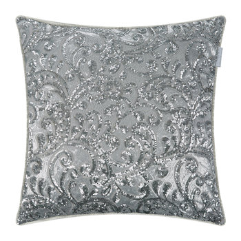 Cadence Bed Pillow - Silver - 55x55cm
