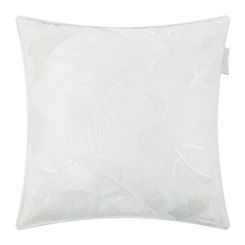 Adele Bed Cushion - Oyster - 40x40cm