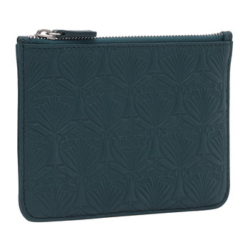 Embossed Coin Pouch - Petrol