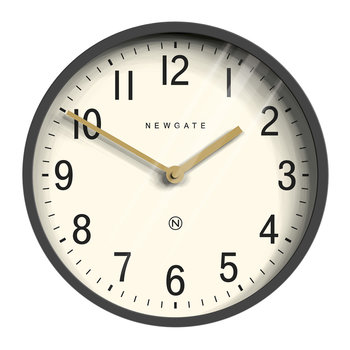 Master Edwards Wall Clock - Blizzard Gray