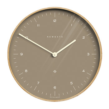 Mr Clarke Wall Clock - 40cm - Burnt Sienna Dial