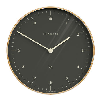 Mr Clarke Wall Clock - 53cm - Oil Gray Dial