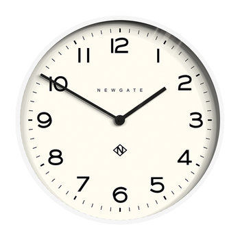 Number One Echo Wall Clock - Pebble White