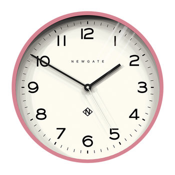 Number Three Echo Wall Clock - Pink