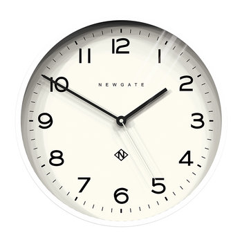 Number Three Echo Wall Clock - White