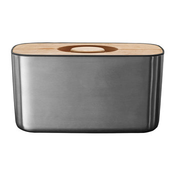 Bread Box 100 - Stainless Steel/Bamboo