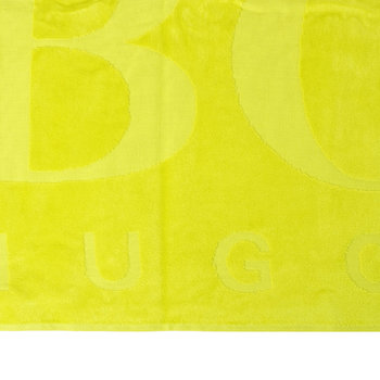 Carved Beach Towel - Lime