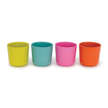 Bambino Cups - Set of 4 - Rose/Lime