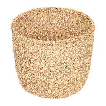 Linear Fusion Utulivu Hand Woven Basket