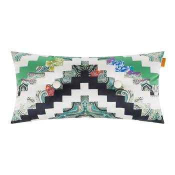 Dwarf Button Cushion - 30x60cm - Green