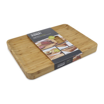 Cut & Carve Chopping Board - Bamboo