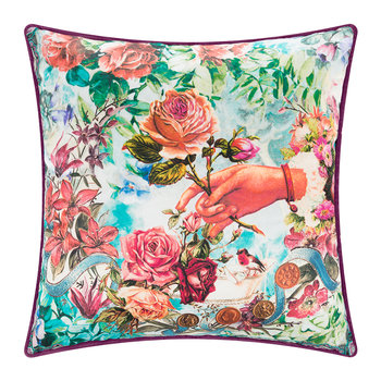Waterlily Cushion - 42x42cm - Design 1