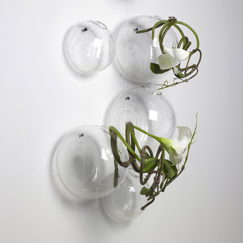 Beatrice Glass Balloon Hanging Vase