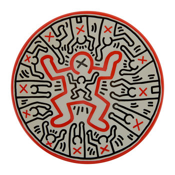 Keith Haring 'Child' Plate