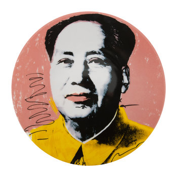 Andy Warhol Plate - Mao - Yellow Jacket