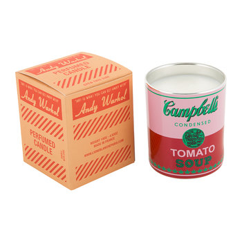 Bougie Parfumée Andy Warhol - Soupe Campbell's - Feuille de tomate