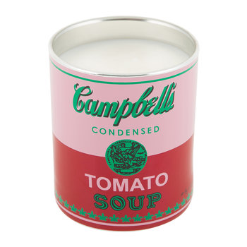 Andy Warhol Scented Candle - Campbell's Soup - Red/Pink
