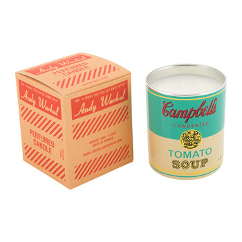 Andy Warhol Scented Candle - Campbell's Soup - Pop Wood