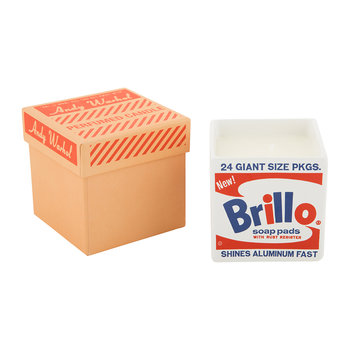 Andy Warhol Square Scented Candle - Brillo - Grapefruit & White Pepper