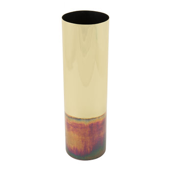 Gold/Oil Effect Vase