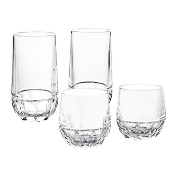 Verres highball cristal Monroe - lot de 2