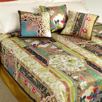 Pixie Quilted Bedspread - Multicoloured