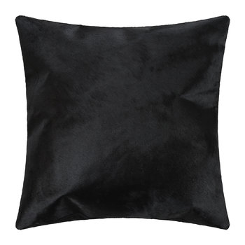 Cowhide Pillow - 45x45cm - Black