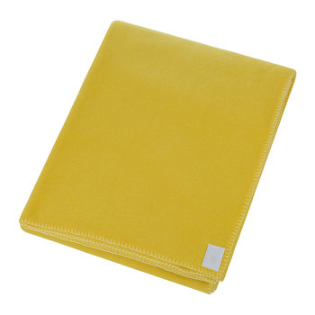 Soft Fleece Decke - Currygelb