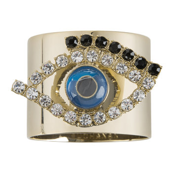 Evil Eye Napkin Ring - Set of 2