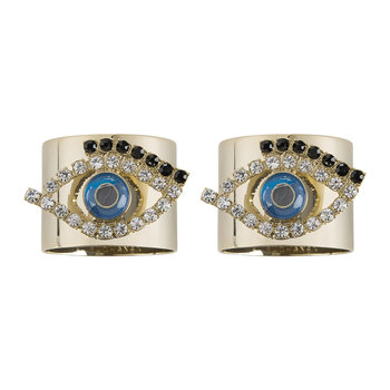 Evil Eye Serviettenring - 2er-Set
