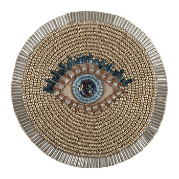 Set of 4 Coasters - Evil Eye