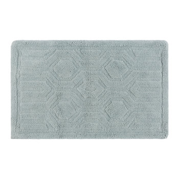 Hexagon Bath Mat - Duck Egg
