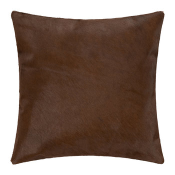 Cowhide Cushion - 45x45cm - Natural