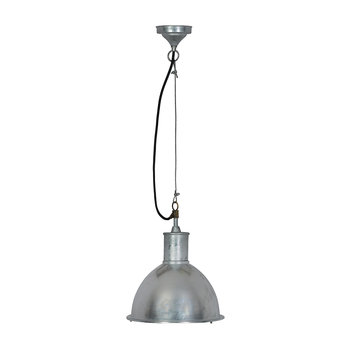 St Ives Bay Outdoor Pendant Light - Galvanised Steel