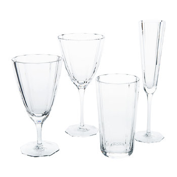 Isabel Hand Cut Crystal Iced Beverage Glass