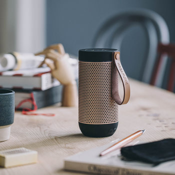 aFunk 360 Degrees Bluetooth Speaker - Black/Rose Gold
