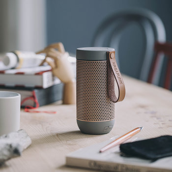 aFunk 360 Degrees Bluetooth Speaker - Cool Grey/Rose Gold