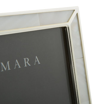 Silver Photo Frame with Mother of Pearl