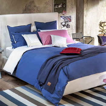Chambray Quilt Cover - Denim
