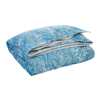 Meadow Lane Duvet Cover - Blue - Super King