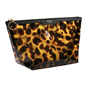 Carey Vinyl Cosmetic Bag