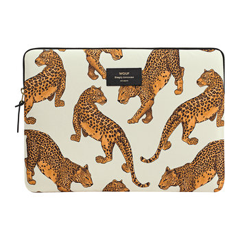 Leopard Laptop Case - 33cm