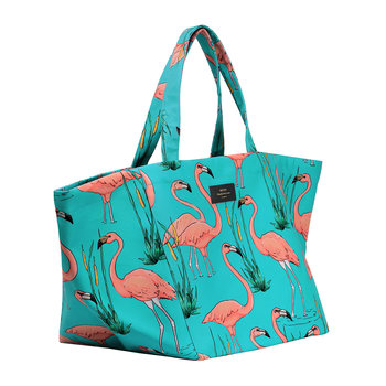 Pink Flamingos XL Tote Bag