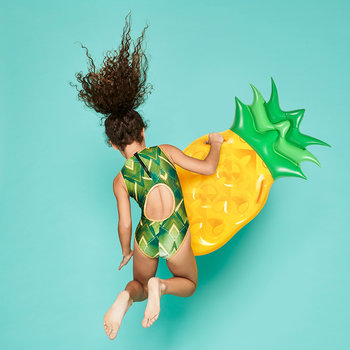 Children's Inflatable Pineapple Surf Rider