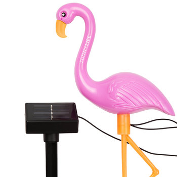 Flamingo Gartenlichter - 3-teiliges Set