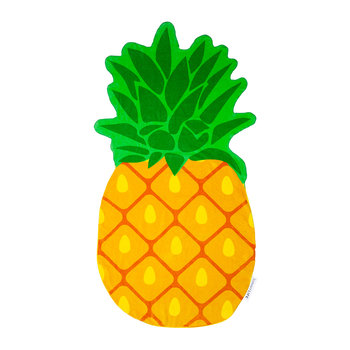 Pineapple Shaped Beach Towel
