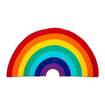 Rainbow Shaped Beach Towel