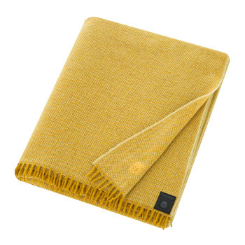 Must Relax Virgin Wool Blanket - 130x190cm - Curry